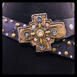Leatherock's cross belt